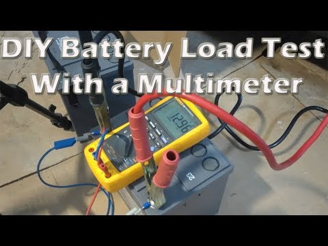 DIY Battery Load Test With a Multimeter