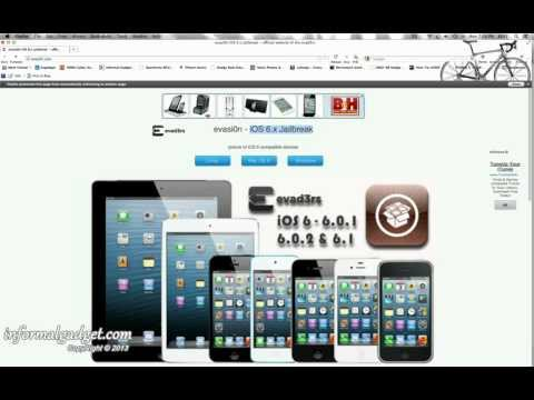 How-To: NEW iPad Jailbreak iOS 6.1 Untethered using Evasi0n tool iPad Mini,2nd,3rd,4th Gen 6.0-6.1