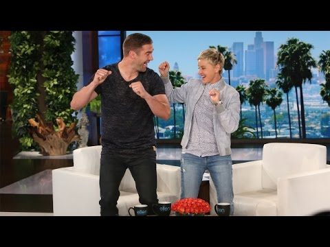 Ellen and Lewis Howes Make Dreams Come True