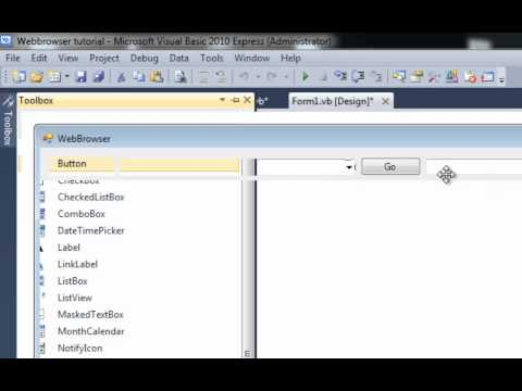 How To: Advanced webbrowser with History and Favorites in Visual Basic