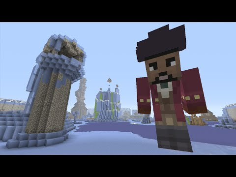 Minecraft (Xbox 360) - Stormwind Iceland - Hunger Games