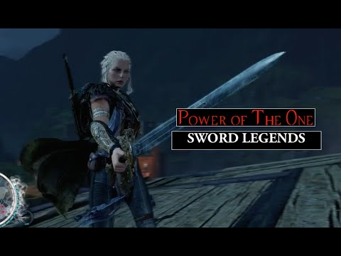 Middle-Earth Shadow of Mordor Lithariel Sword Legends