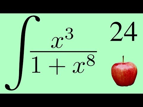 Calculus 2: The Integral of x³/(1+x⁸) and the Integral of x⁷/(1+x⁸)