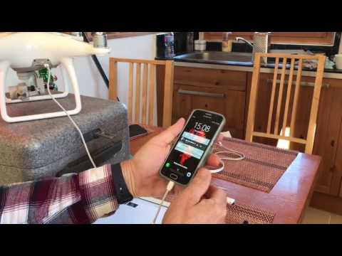 DJI Phantom file transfer to IOS and Android