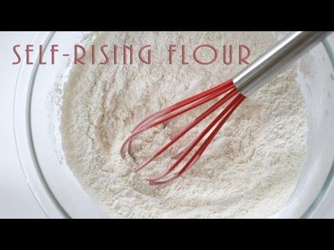 How to Make Self-Rising Flour Substitute - Homemade Recipe