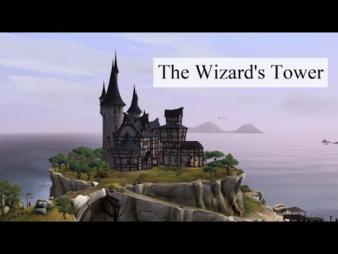 The Sims Medieval and Chill – Furnishing the Wizard's Tower (no voice)