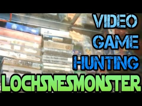 VIDEO GAME HUNTING- GOODWILL, THRIFT SHOPS and MORE!