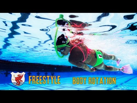 Swimisodes - Freestyle Swim Technique - Body Rotation