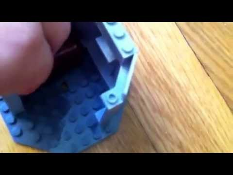 How to build a small lego castle