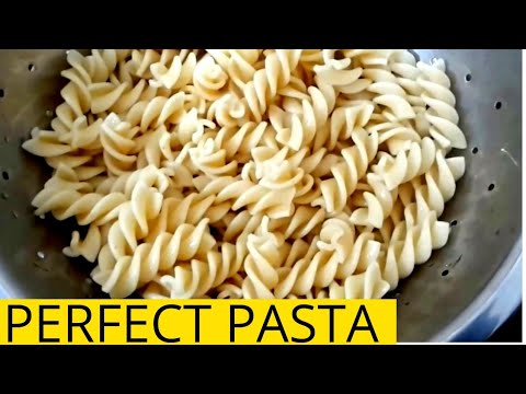 How to boil Pasta/ How to cook Perfect Pasta