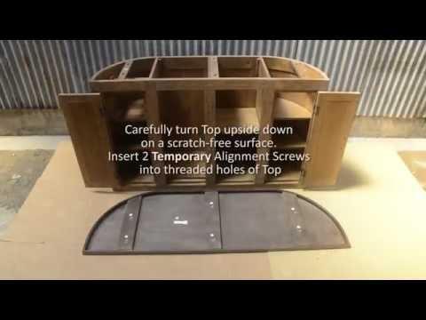 Lawrence Curved Bar - Assembling Steps