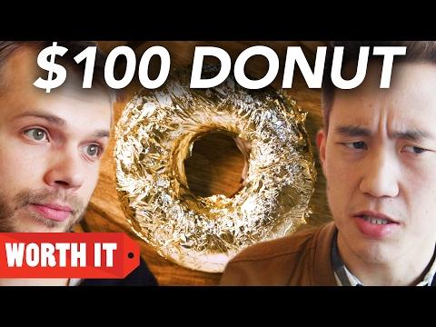 $1 Donut Vs. $100 Donut