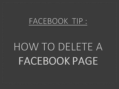 How to delete a Facebook Business Page Step by Step instructions