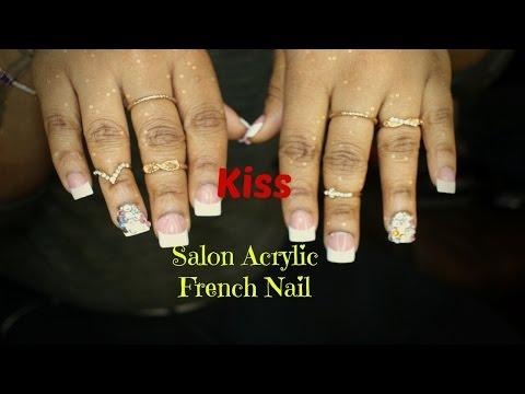 HOW TO Make Press On Nails Last For 3 WEEKS! |  KISS Acrylic Nails |  5 minute drug store manicure ☆