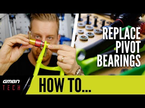 How To Replace Frame Bearings Using A Bearing Press | MTB Maintenance