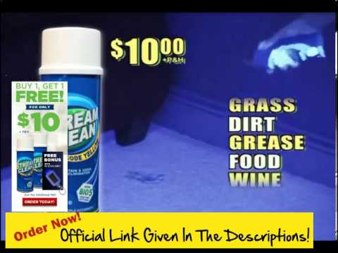 How To Get Tough Stains Out Of Carpet! Get Stream Clean ! The Stand Up Way To Blast Pet Stains & Odo