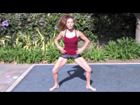 Leg Workout With Coach Meggin! Leg Tone At Home Workout