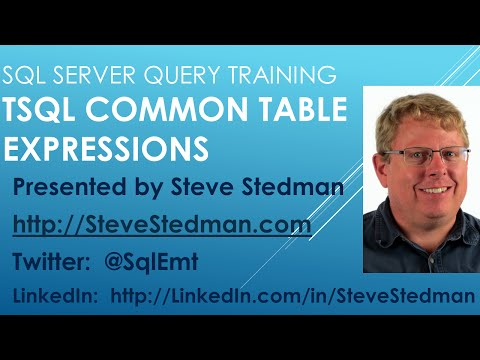 SQL Server - Common Table Expressions