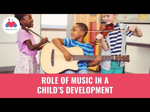 Role of Music in a Child's Development