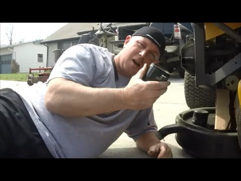 Lawn Care Mower Maintenance - How to Load a Grease Gun