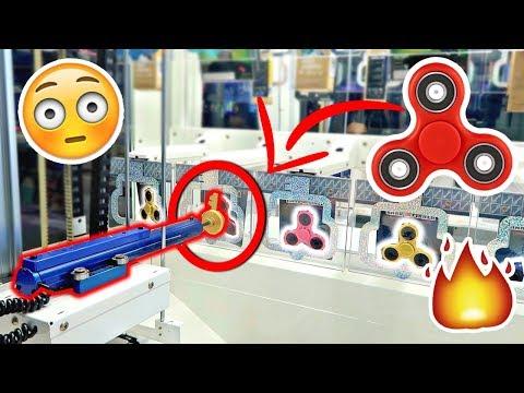 FOUND A FIDGET SPINNER KEY MASTER MACHINE!!!!! (WON THE BIGGEST JACKPOT)