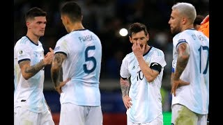 Copa America : L'Argentine est au plus mal !
