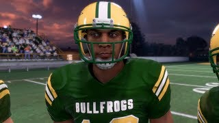 Madden 18 Longshot Story Mode Gameplay - High School Game!