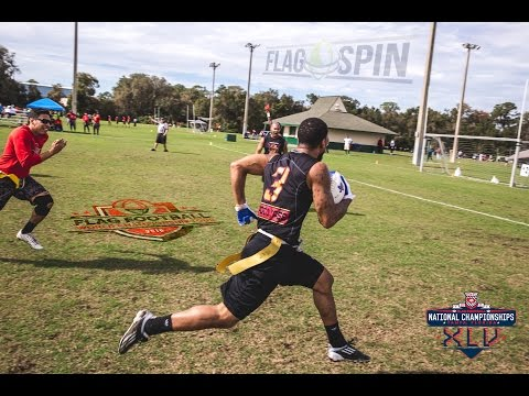 2016 USFTL Nationals Flag Football Tournament FFWCT Highlight Reel