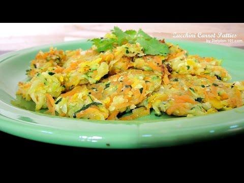 Zucchini Carrot Patties | Dietplan-101.com