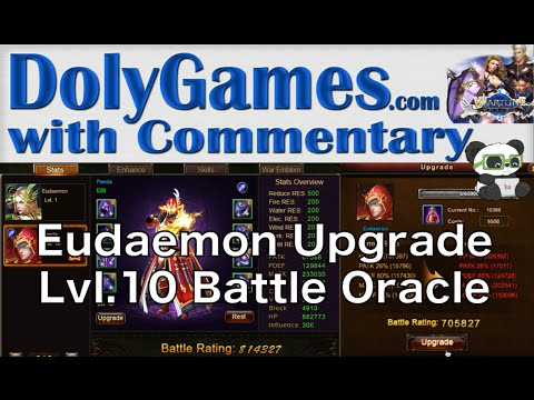 ➜ Wartune Eudaemon Upgrade - Lvl. 10 Battle Oracle, Gear Upgrade and Enchant, Skill Upgrades