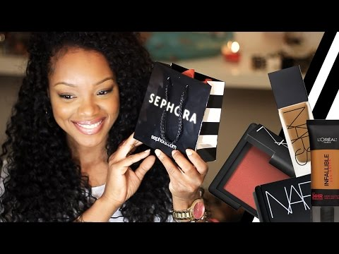BEFORE You Shop at Sephora Watch this Video!   2015 Haul & Deals! NARS, MAC,  L'Oreal Pro-Matte