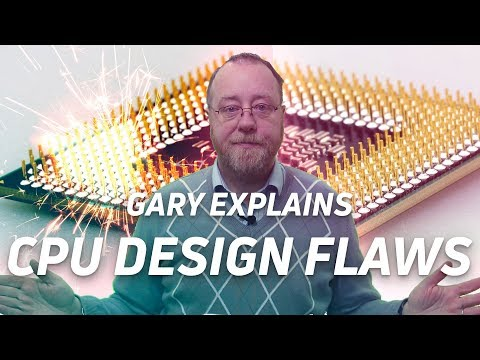 Why modern CPUs are flawed (Meltdown/Spectre) - Gary explains