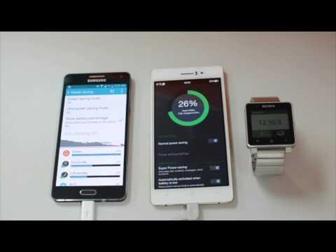OPPO R5 vs Samsung A5 Powerbank Charging battle