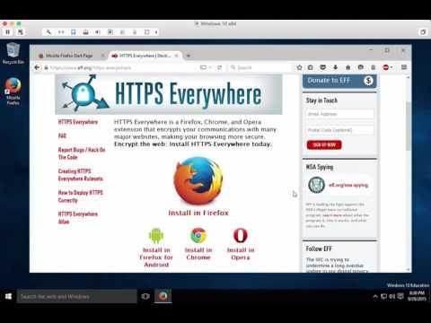 Configure Firefox Settings on WIndows
