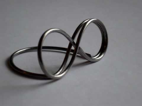 Infinity Wire Place Card Holders