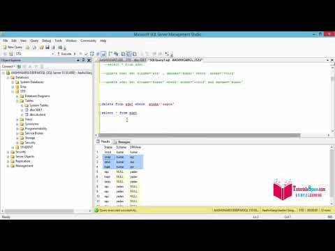 12- DELETE Statement In SQL Server In Hindi | DELETE Query In SQL Server In HINDI | Delete In SQL
