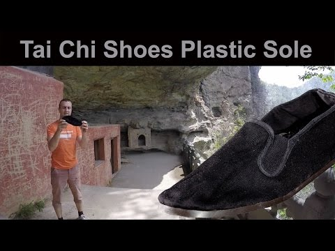 Tai Chi Shoes Plastic Sole for sale for all styles of Tai Chi and Qi Gong