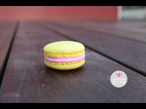 PINK LEMONADE MACARONS (CITRUS THEME COLLAB WITH BLANCH TURNIP)