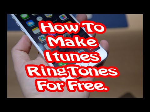 How to make itunes Ringtone for free (windows 10)