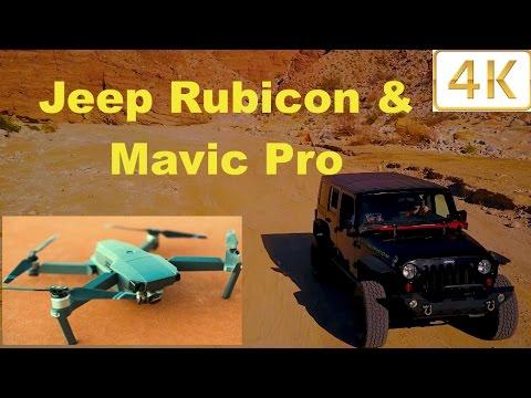 Amazing 4K Jeep Rubicon  Drone Video