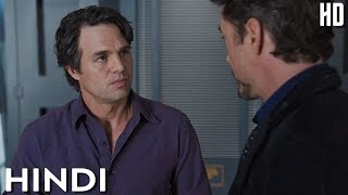 Download Tony Stark Meets Bruce Scene in Hindi   The Avengers (2012)   Ironman and Hulk Funny Scenes Video
