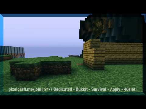 Minecraft survival server - Pixelcraft [1.8.1]