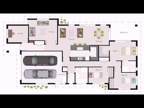 Simple 3 Bedroom Ranch Floor Plans