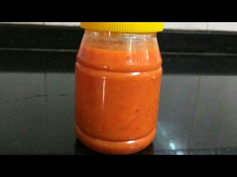 Chutney - Red Chutney Recipe |  Spicy Red Chutney | Hot Sauce | लाल चटनी रेसिपी
