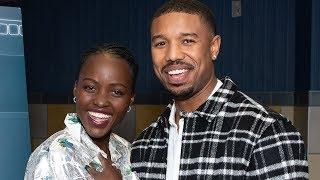Download Michael B. Jordan & Lupita Nyong'o's Latest Bet - 'Black Panther' - Variety Screening Series Video
