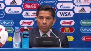 MEX v NZL - Javier Aquino - Mexico Post-Match Press Conference