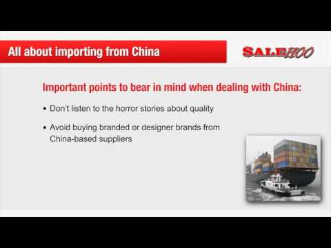 How to Buy Products from China Wholesale  to sell on Ebay and Amazon