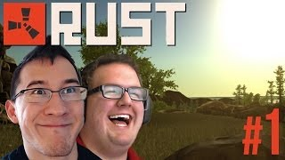 LAUGHING TIL IT HURTS   Rust Gameplay #1