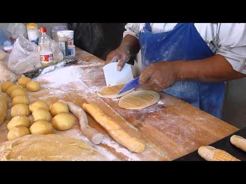 How to mold Elote pan dulce