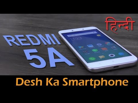 Redmi 5A review (Hindi) - budget smartphone performance, camera and battery